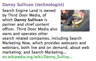 Cuil Danny Sullivan
