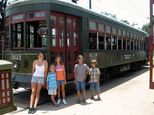 new orleans louisiana st. charles streetcar
