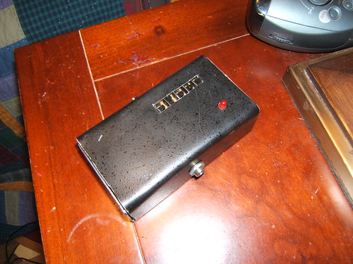 Mini megaphone pedal