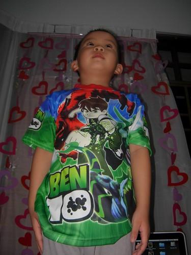 ben 10 t-shirt