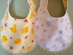 Front n back hanging (O Sew Sweet by Keo) Tags: designer bibs