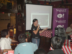 Sharing the the Yahoo! Developer Network with RP developers - photo by Jem Seow