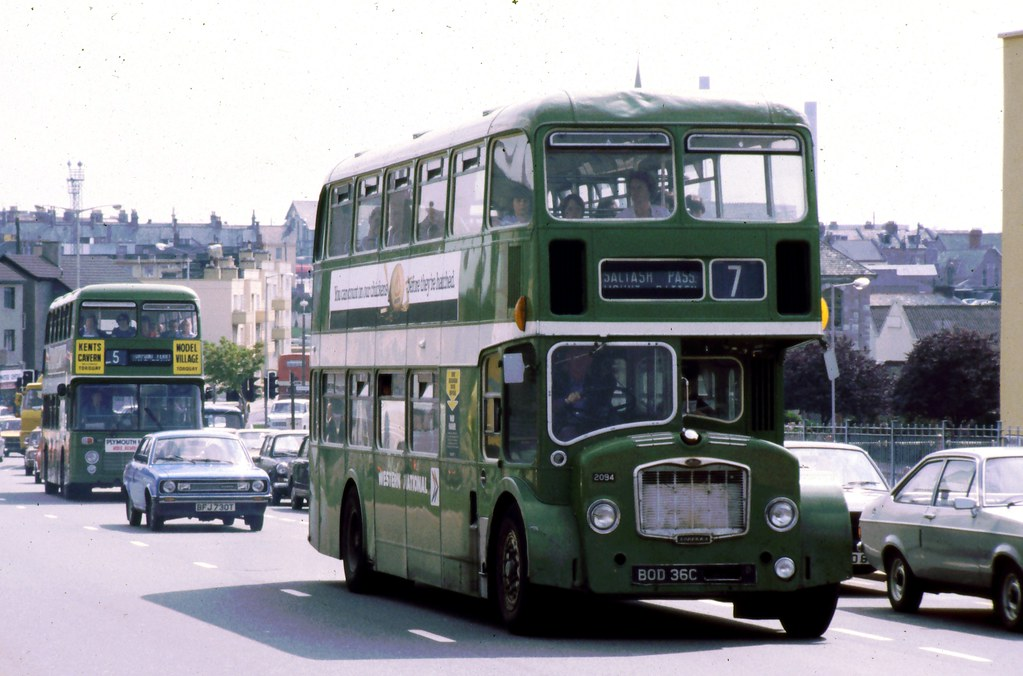 095-15 Western National FLF 2094 in Plymouth