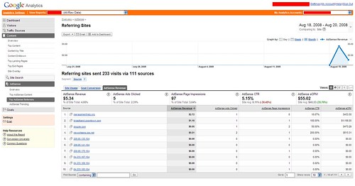 Google Analytics & AdSense