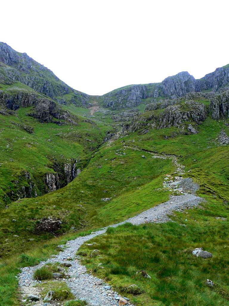 Track down the Lost Valley from the Bealach