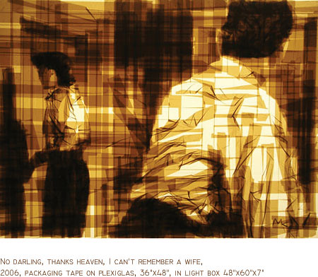 Mark Khaisman Tape Art Pessoas