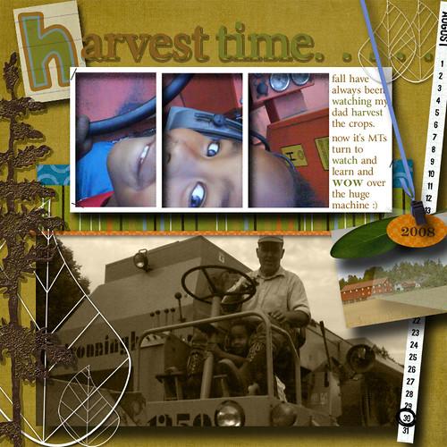 harvest; a scrap
