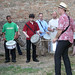 Felix Gibbons leads drummers in samba percussion workshop