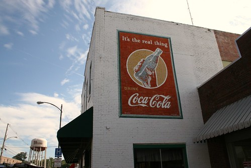 minden coca-cola sign from the 1940's