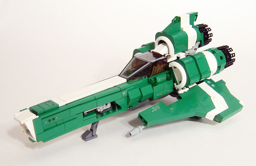 Battlestar Galatica Viper LEGO instructions