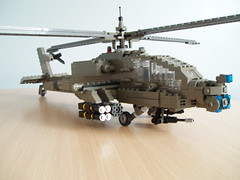 AH-64 Apache (5) (Mad physicist) Tags: army apache lego military helicopter 136 usarmy ah64