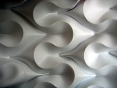 voluptuous curves (polyscene) Tags: shadow sculpture white art geometric paper design 3d origami pattern bass low craft surface relief polly fold curved poly bas score robo basrelief verity papersculpture threedimensional polypropylene lowrelief bassrelief developable polyscene pollyverity developablesurface curvedfold 3dpattern