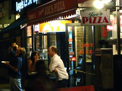 Late night at Famous Joe's Pizza. by hfabulous, on Flickr