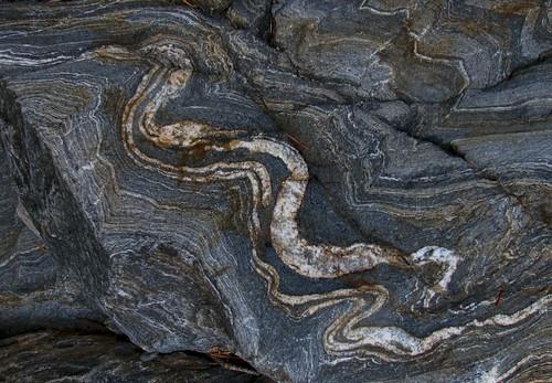 metamorphic rock formation. Metamorphic Rock Pattern Snake
