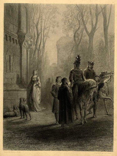 04-Lancelot despidiendose de Elaine