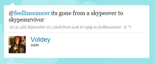 @feelinecancer its gone from a skypeover to skypesurvivor