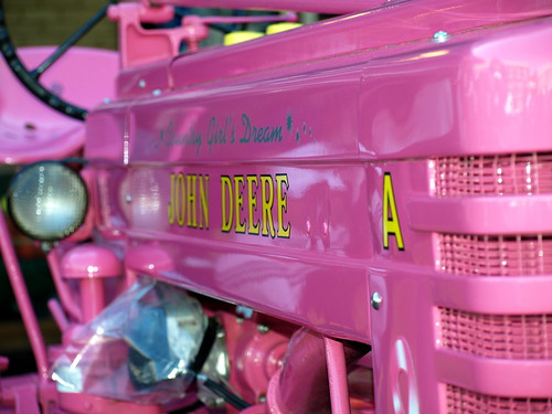 A Pink John Deere
