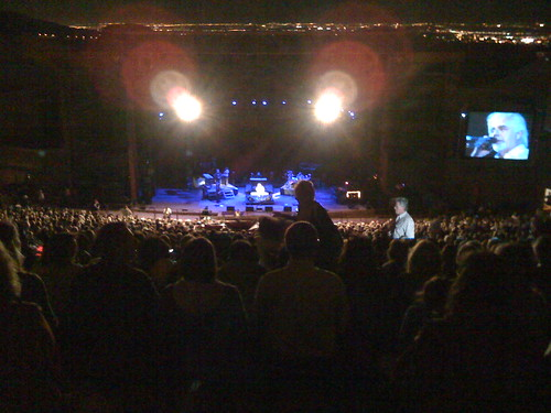 Michael McDonald Performing at Red Rocks on September 23, 2008