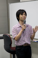 "ひが やすをさん, JJUG Cross Community ""JRuby と Jython"", 2008.08.28"