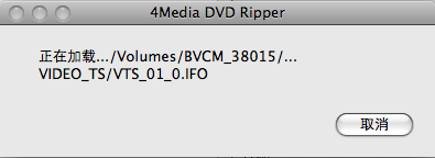 4Media DVD Ripper 加载中