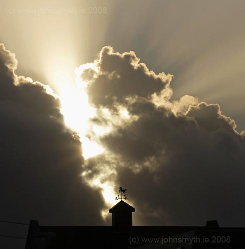 Sunburst in Galway