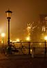 Bicycle, Oude gracht, Utrecht at Night (lambertwm) Tags: mist bicycle misty fog night canal long exposure utrecht nacht foggy bicicleta bicyclette fahrrad oude viewcount gracht cykel bicicletta mistig lanter lantaarnpaal utrechtbynight lwmfav utrechtnight utrechtnacht
