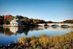 Pear Tree Point (floralgal) Tags: autumn houses homes fall realestate fallcolors bridges beaches longislandsound fpc darienconnecticut stonebridges platinumphoto ultimateshot largehomes homesonthewater fairfieldcountyconnecticut peartreepoint fairfieldcountyrealestate gorehambridge