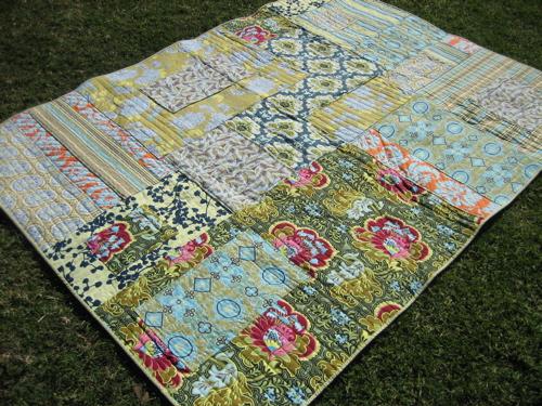 Amy Butler Patchwork Quilt