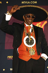 flavor flav at a latin award show
