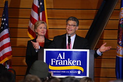 MN: Union Members Attend Franken Rally in St. Paul