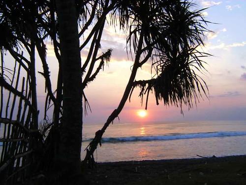 Sonnenuntergang im Coco Beach