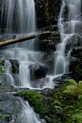 Lower Chocwich Falls (dmillhol) Tags: green water waterfall moss falling cascades flowing darrington northcascades cascading mountloophighway granitefallspentaxk10d lowerchocwichfalls