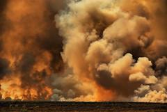 Prairie Fire Extraordinaire (Jeff Clow) Tags: oklahoma fire bravo smoke flames explore dfw prairiefire jeffclow jeffrclow