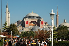 Hagia Sophia (Timoluege) Tags: heritage church turkey october cathedral istanbul mosque 2008 hagiasophia ayasophia stsophie