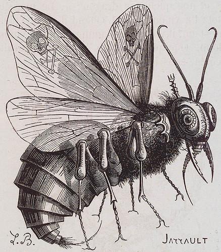 006- Belzebu-De acuerdo con las Escrituras el príncipe de los demonios, primero en poder y crímenes después de Satanas .... su nombre significa Señor de las moscas- J.A.S. Collin de Plancy.