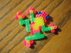 Perler Beads Tree Frog (Kid's Birthday Parties) Tags: kids beads crafts frog treefrog kidscrafts fusebeads hamabeads perlerbeads
