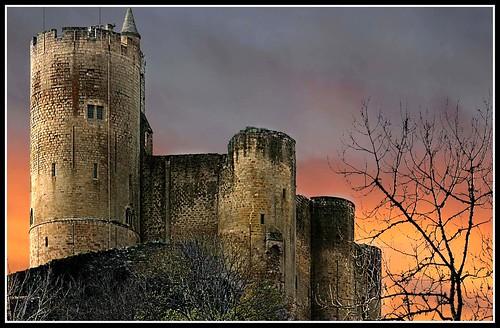 AVEYRON Le chateau de Najac