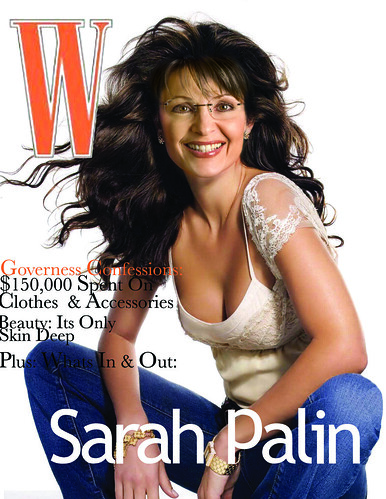 Palin on W magazine