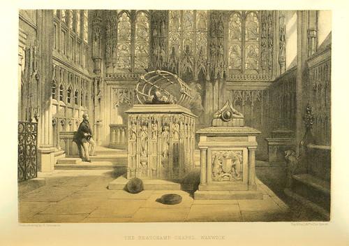 014- The Beauchamp Chapel- Warwick- fundada a principios del siglo XV