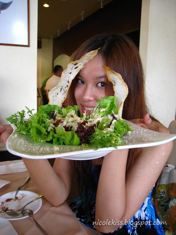 salad and me