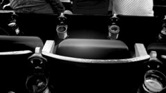 rows (kozfear) Tags: beer outdoors concert seats backs shorelineamphitheater cupholders bridgeschoolbenefit kozfearblackandwhite