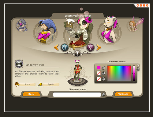 Dofus-game_5-select-character2 by Narisa