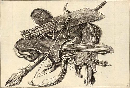 013- Arco- Carcaj  y una lanza