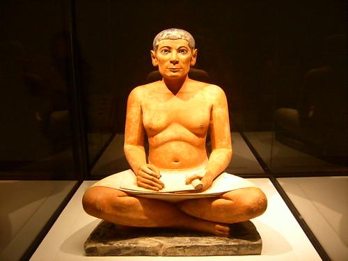 Museo del Louvre, Escriba sentado