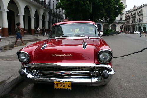 old timer cuba chevrolet 1956