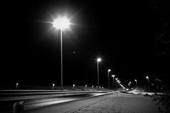 Snow patrol (PtitBen) Tags: road snow cold canon lights highway parking bruxelles route neige autoroute aire froid repos lampes clairage arlon 400d e411 rebelxti lundifontaine