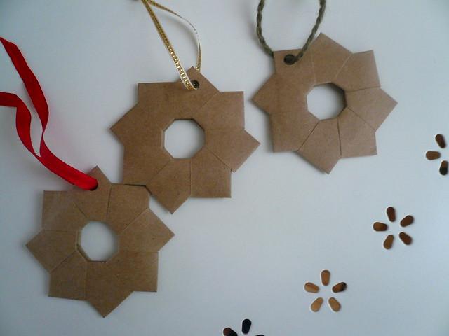 Origami Wreaths