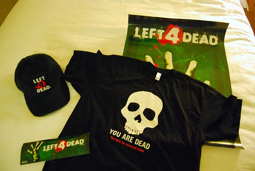 Left 4 Dead Poster, camiseta, gorra y banner
