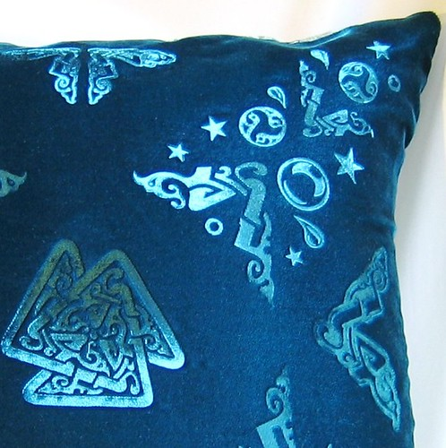 Embossed Velvet Pillow Cover