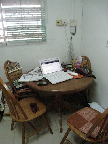 My el cheapo writing corner